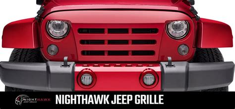 undercover jeep undercover nighthawk replacement grille for jeep total