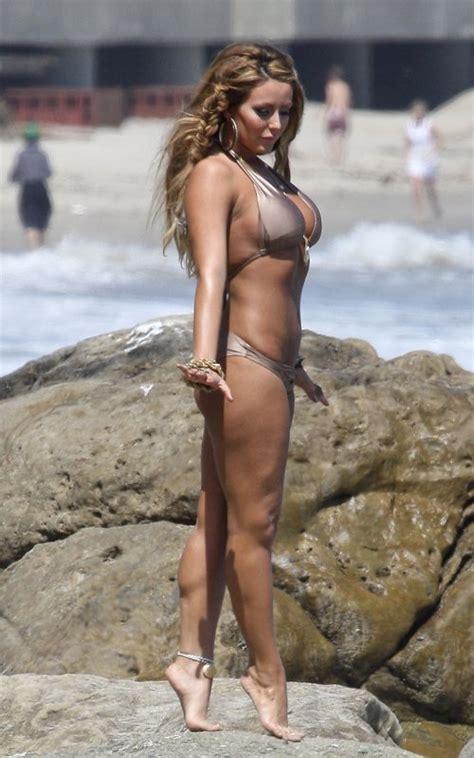 aubrey oday bikini beach shoot fashion street news