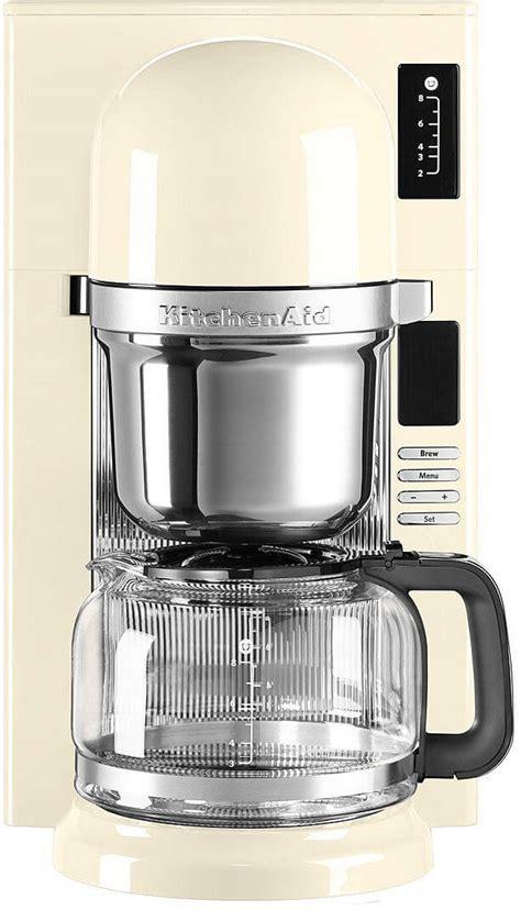 kitchenaid filterkaffeemaschine kcmeac creme