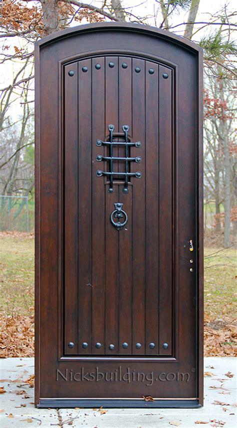 Arched Doors Exterior Home Entrance Door Arched Front Doors