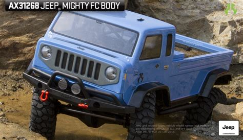 jeep mighty fc for sale axial jeep mighty fc 04 quot clear