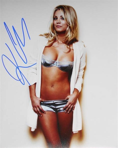1420204655 kaley cuoco zoom jpg kaley cuoco super hot photo autographed 8x10 ebay