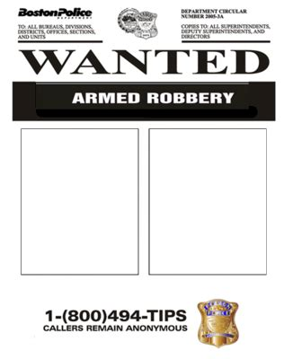 Powerpoint Templates Free Download Wanted Poster Template Kids Fbi Wanted Poster Template