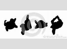 People Walking Top View Silhouettes Set 2 Stock ... Girl Soccer Silhouette Clip Art