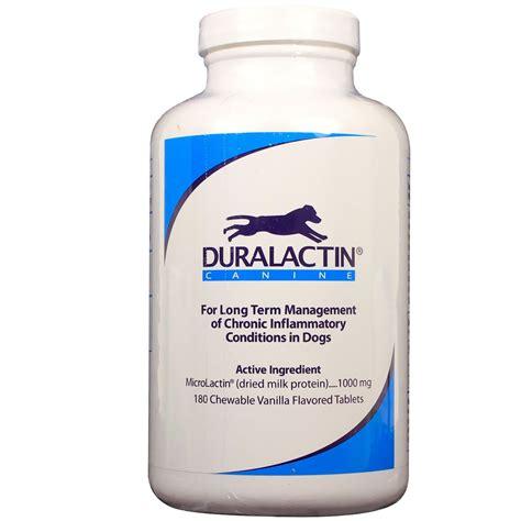 duralactin for dogs duralactin canine 1000 mg 180 tablets