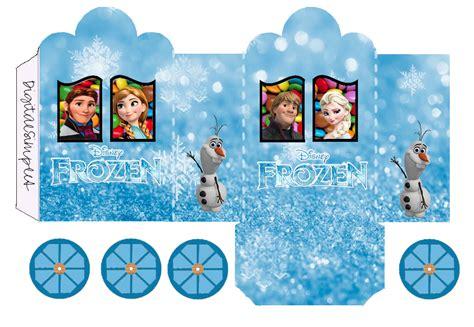 cajas para imprimir gratis ideas y material frozen para imprimir gratis caja con forma de carruaje