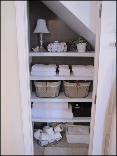 Bathroom Closet Storage Organizing Your And Home My Bathroom Closet Makeover Beneath My