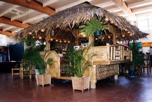 tropical garden furniture bamboo tiki huts bars