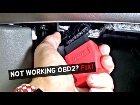 obd port  working   fix  working obd port