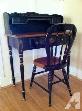 ethan allen writing desk rare antique ethan allen writing desk chair for sale