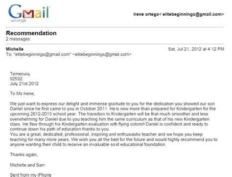 Reference Letter From Employer Child Care Next Letter