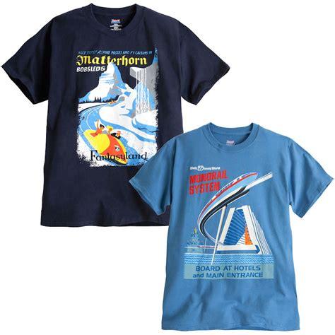 Disney Shirts Matterhorn Bobsleds And Monorail Shirts Coming To Disney