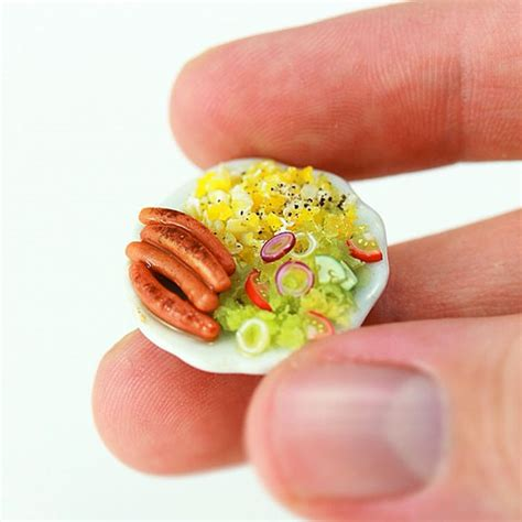 Link Mini Food by These Miniature Food Models Are Deliciously Adorable