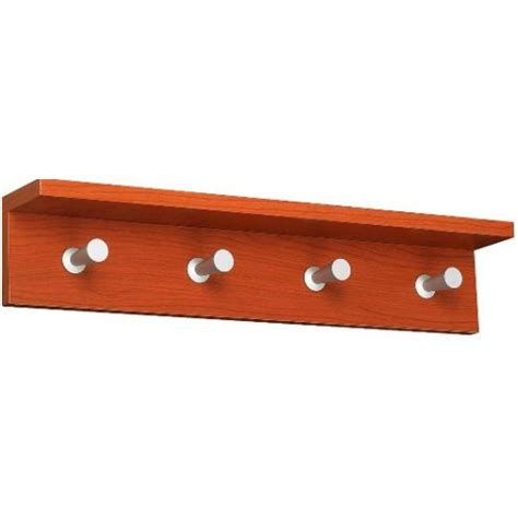 Safco Blueprint Rack by Safco Contempo Wood Wall Rack 4 Hook 4221cy Engineersupply