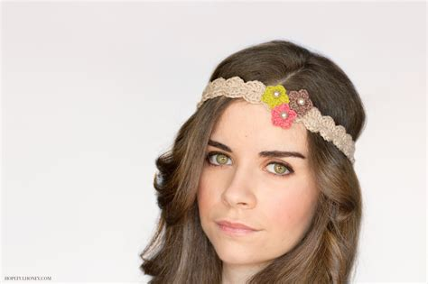 pattern headbands crochet beautiful headbands for your little girl with