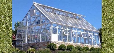 Large Kitchen House Plans by Glass Greenhouses Gothic Arch Greenhouses