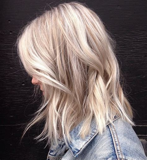 blonde colours for cool skin tones cool toned textured blonde mane interest