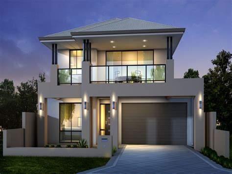 unique 2 storey modern house designs and floor plans