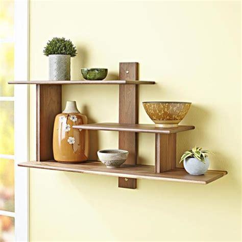 Rak Dinding Awan Wooden Shelf cara membuat rak dinding tempel minimalis yang mudah