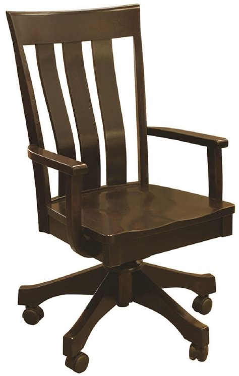 Amish Desk Chair by Perryville Hardwood Desk Chair Countryside Amish Furniture