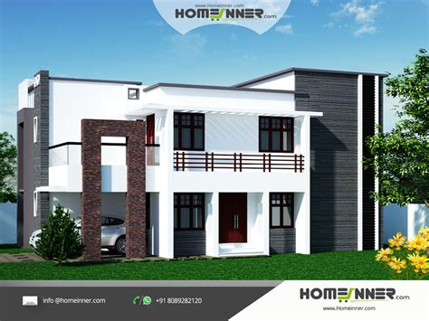 Home Designs India Free | contemporary north indian homes designs naksha design