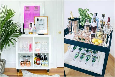 appendi bicchieri bar mini bar angolo di relax fai da te con porta bicchieri