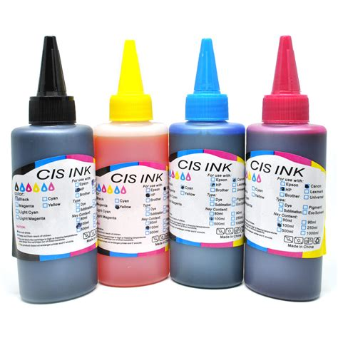 Refill Tinta Printer Cis Tinta Refill Cartridges Printer Canon Hp 100ml Black Jakartanotebook