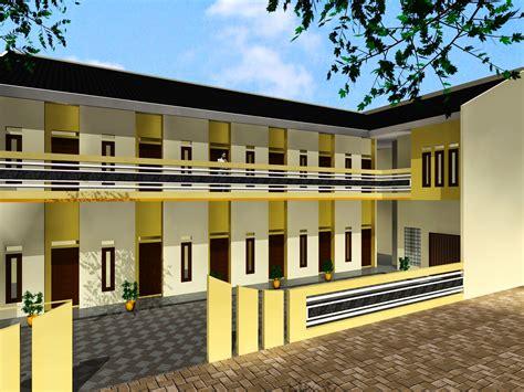 desain terbaik membangun kos kosan jasa gambar rumah arsitek indo kontraktor