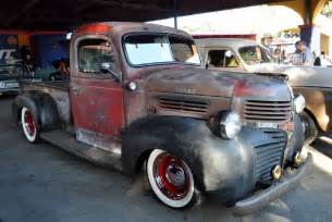 Truck Rod Wheels Just A Car Dodge Truck Rat Rod With A Footlocker For