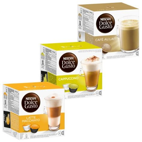 Nescafe Latte 15 X 31 Gr grocery drinks find nescaf 233 dolce gusto products