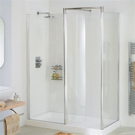 Walk In Shower Enclosures Lakes Bathrooms Classic Silver 1700 X 1000mm Walk In