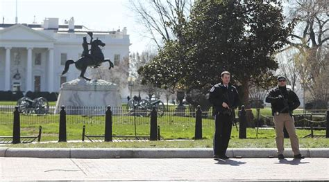 shooting near white house unidentified man wounded in shooting near white house
