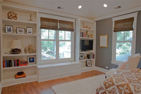 built in shelves and cabinets tessa s master bedroom built in bookcases for the home