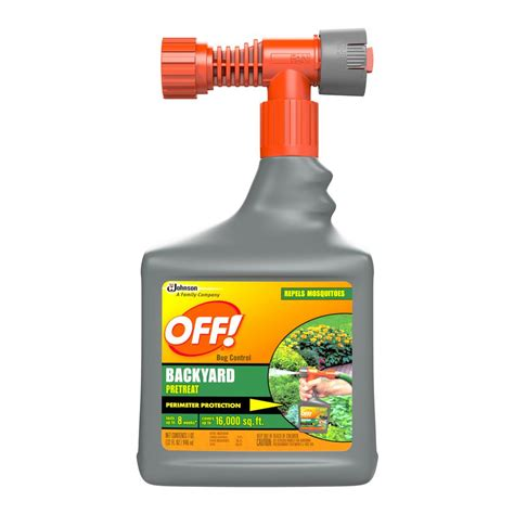 Off Hose End Backyard Mosquito Spray Outdoor Goods Gogo Papa