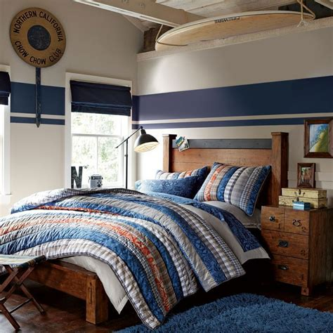 Tween Boys Bedroom Ideas Boy Room Colors White Hc 84 And Admiral Blue 2065 10 Benjamin S Color