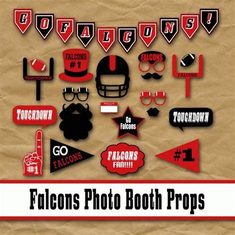 Printable Photo Booth Props Football | printable football photo booth props football photo