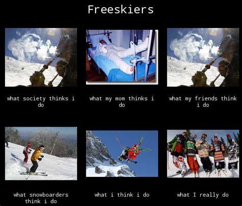 Ski Meme - funny ski meme i made ski gabber newschoolers com