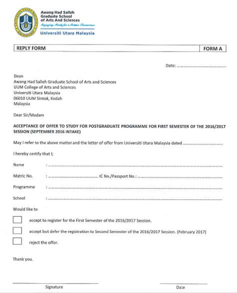 Borang Guarantee Letter Hospital Kerajaan Step By Step For Registration Master Of Education Uum Ijazah Sarjana Pendidikan Pengajaran