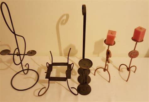 venta de candelabros usados lote de 11 candelabros en hierro decoraci 243 n velas 500