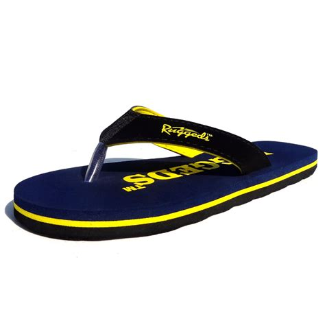 Comfortable Mens Flip Flops by Buy Ruggeds Comfortable S Flip Flops In India