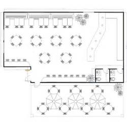 Restaurant Floor Plan by Sample Restaurant Floor Plans To Keep Hungry Customers