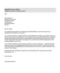 Work Experience Letter For Nursing Cover Letter And Resume