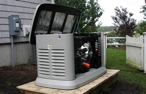 standby generators for use during power outages the