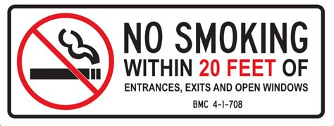 no smoking sign requirements california smoking tobacco and cigarette news