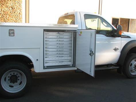 service body sliding drawers commercial truck success blog knapheide 9 service body