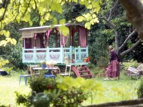 how to transform a small backyard creating backyard bohemia with caravans