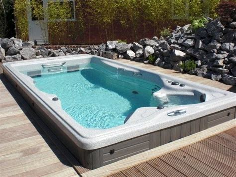 swim spa backyard designs back yard ideas