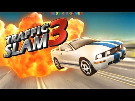 traffic slam  car crashing game   kid games youtube