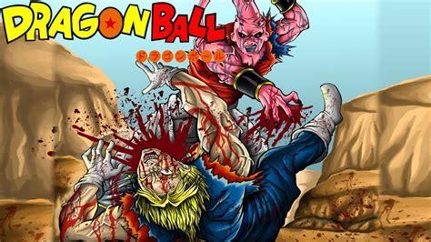 dragon ball fan manga dragon ball z alternative vegito vegito vs kid buu