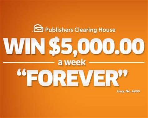 Weekly Sweepstakes - publishers clearing house giveaway 4900 autos post